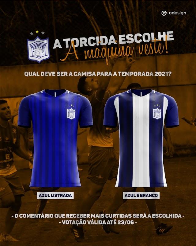 Ypiranga lança enquete para torcedor escolher uniforme oficial para a disputa da Série A2