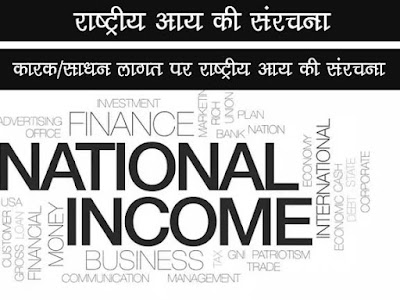 कारक (साधन ) लागत पर राष्ट्रीय आय की संरचना |Structure of National Income at Factor Cost