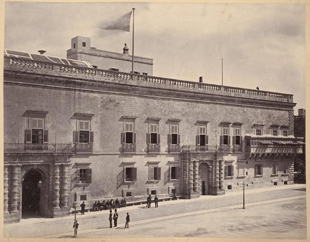 Malta hallintorakennus valokuva