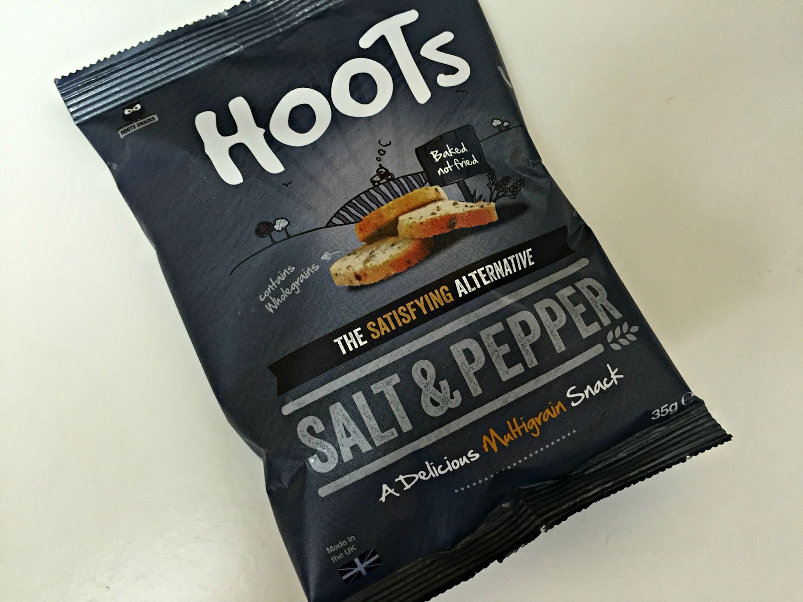 Hoots Salt & Pepper Snack