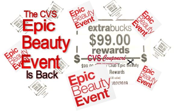 epic beauty event cvs deals