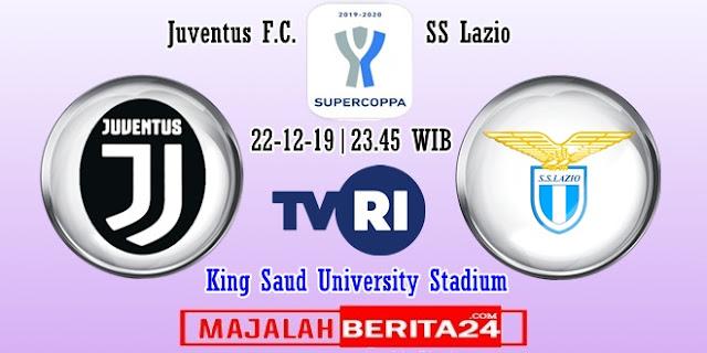 Prediksi Juventus vs Lazio — 22 Desember 2019