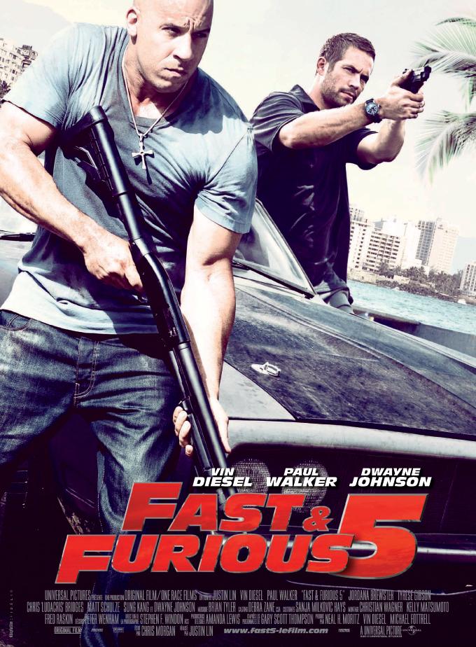 Review Filem : Fast  & Furious Five
