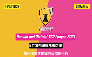 Darwin and District T20 League 2021 WCC vs SD 13 May Match Prediction Tips Free