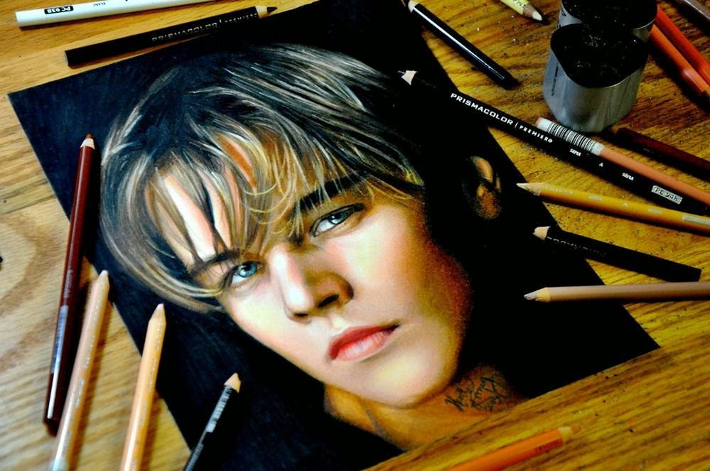 Mail2Day: Incredible Colored Pencils Portraits by Heather ...