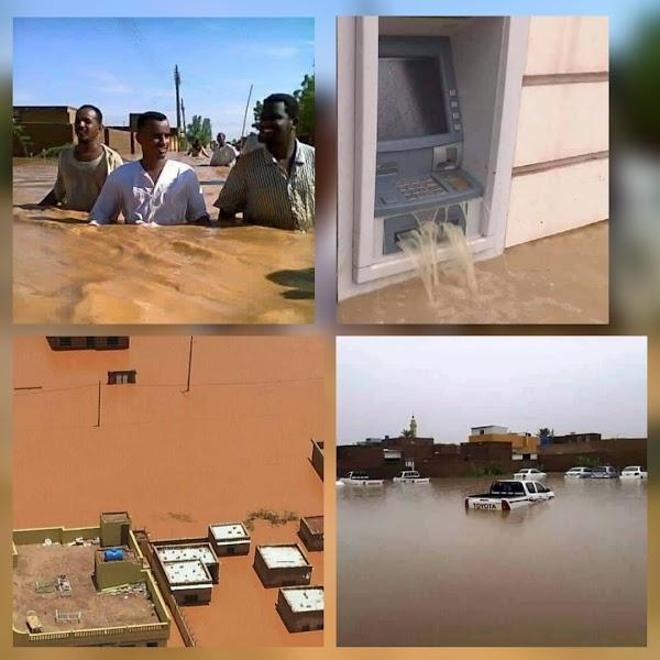 ( FOTOS ) inundaciones extremas en sudan dejan fallecidos.