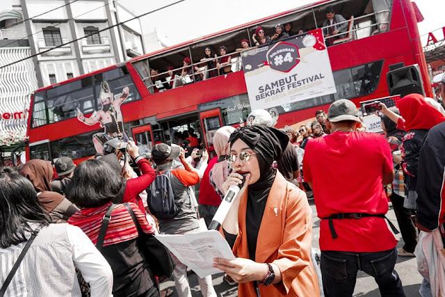 MC Sambut Bekraf Festival 2019