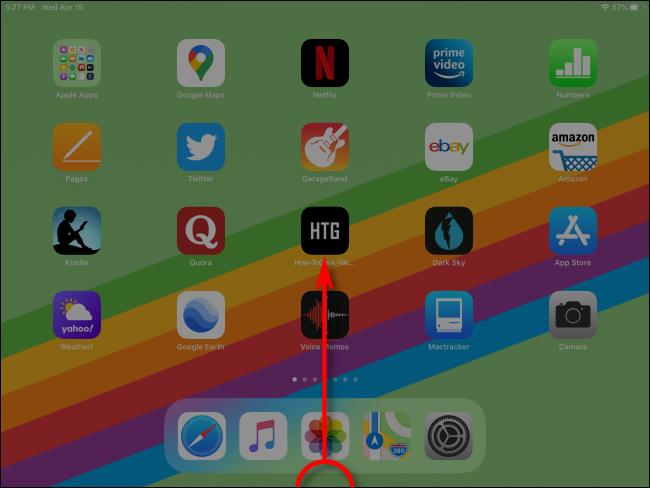 كيفية تشغيل App Switcher على iPad