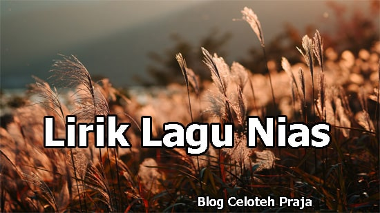 Sambalo Ubaloio Lirik Lagu |Wira Laoli |No Ara Ubaseö