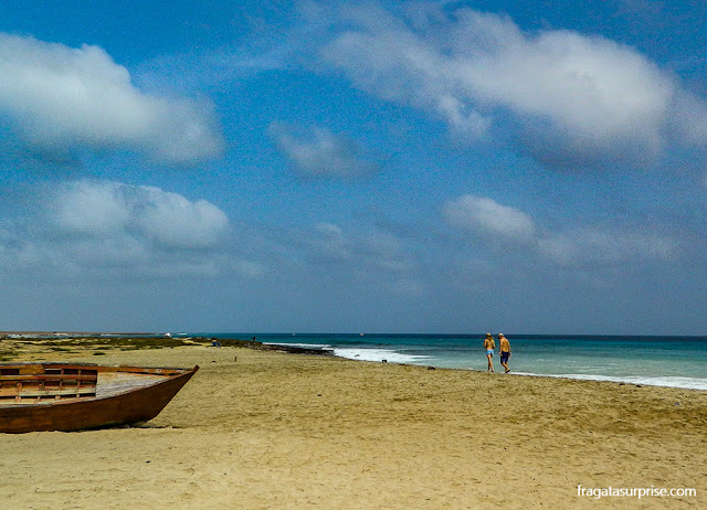 Praia de Santa Maria, Ilha do Sal