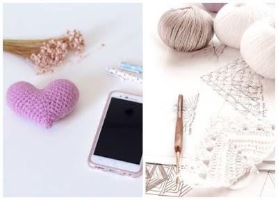 Patrones Crochet Corazones San Valentin