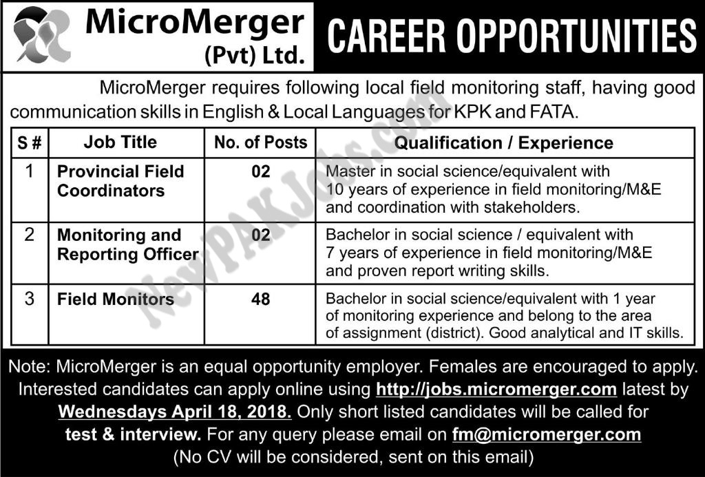Jobs.micromerger.com