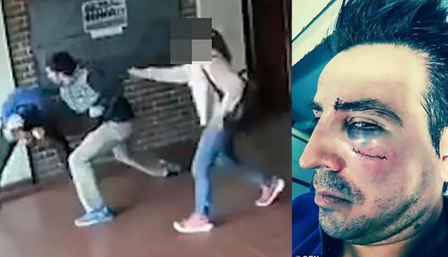 Πατέρας έκανε τούμπανο στο ξύλο καθηγητή που παρενοχλούσε σεξουαλικά την κόρη του (βίντεο)