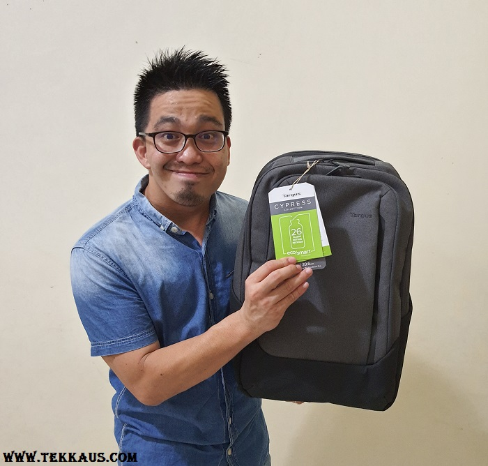 Targus Cypress EcoSmart Hero Backpack Is Made From 26 Bottles