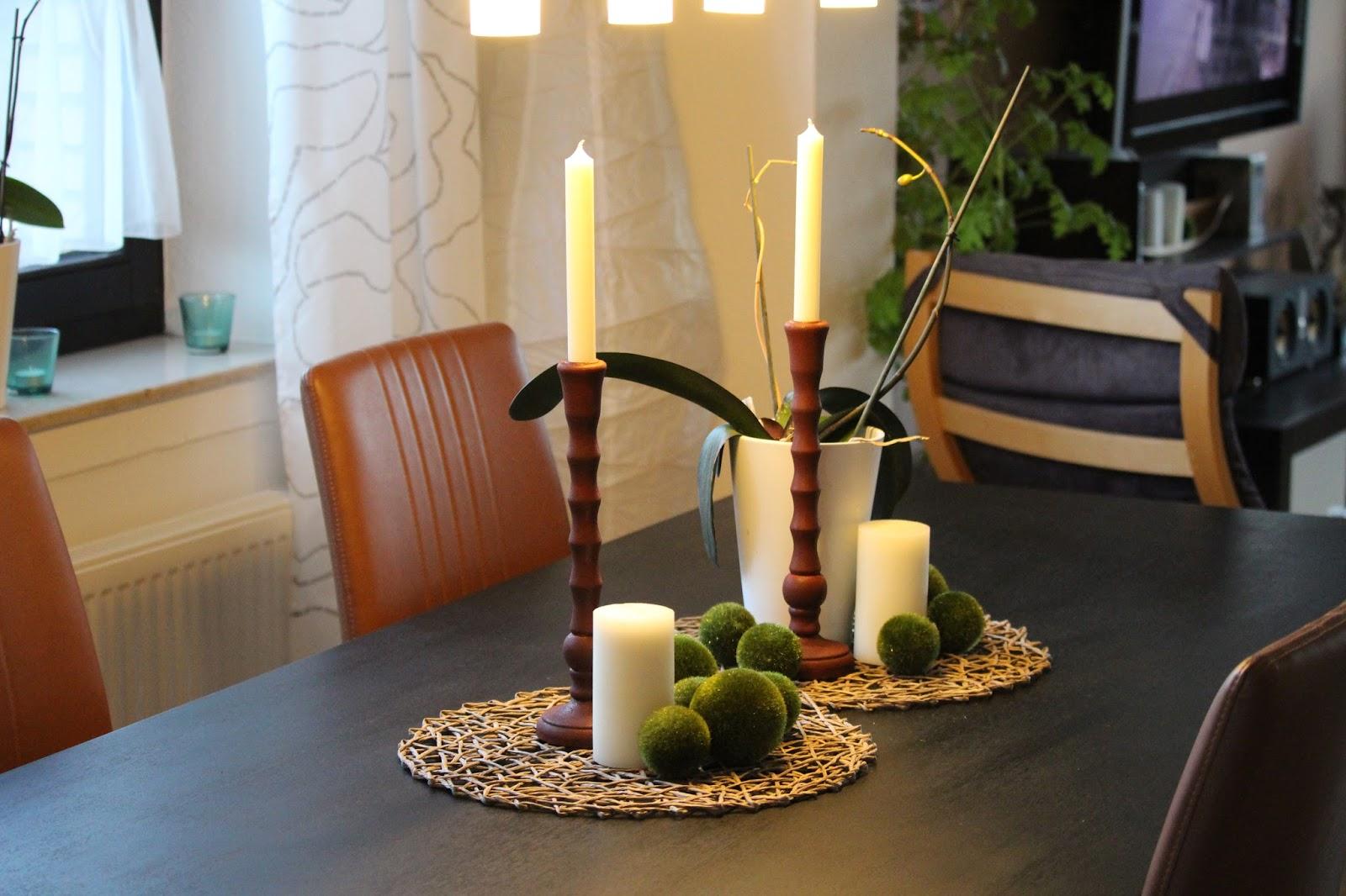 Tischdeko Alltag Herbstliche Tischdeko Leelah Loves