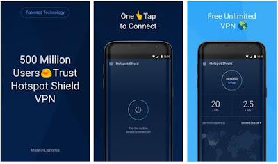 5 Aplikasi VPN Gratis Terbaik Untuk Android (Juni 2019) - Hotspot Shield