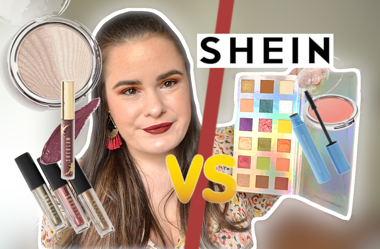 Crash test sheglam maquillage shein