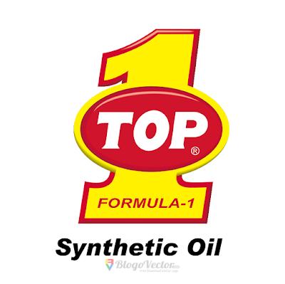 TOP 1 Oil Logo Vector
