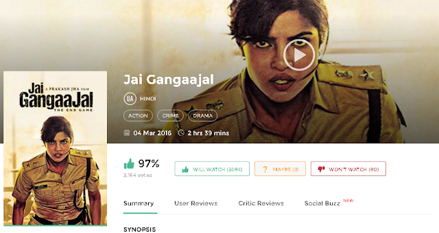 Jai Gangaajal 2016 Hindi Full Movie in Free 720p avi mp4 3gp HD
