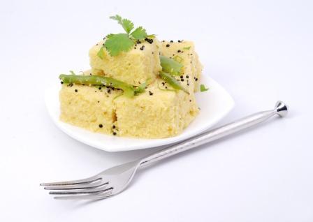 Gujarati Cuisine - khaman
