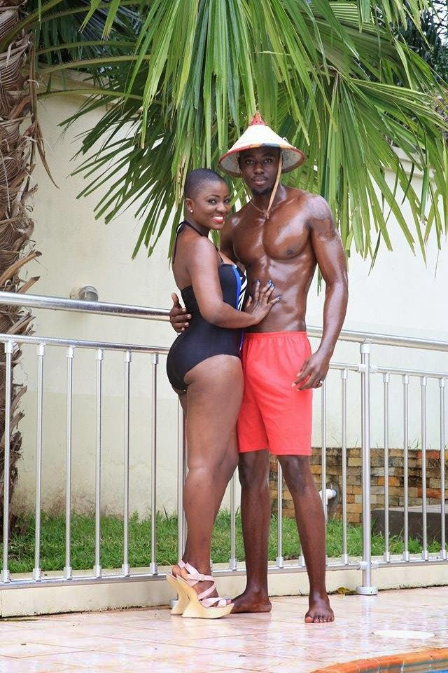 Boys Kasa Star, Ahuof3 Patri Shares Cosy Picture with Model