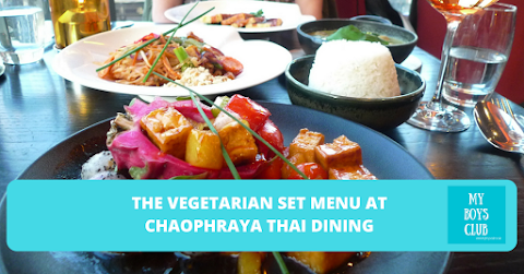 The Vegetarian Set Menu at Chaophraya Thai Dining (REVIEW)