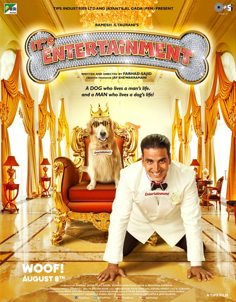 Akshay Kumar It's Entertainment Movie First Look Poster