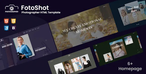 Best Creative Photographer Responsive Template