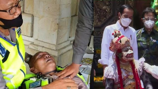 Seorang Polisi Meninggal Saat Amankan Kunjungan Jokowi ke Puri Ubud, Bali