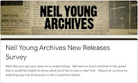 Neil Young Umfrage Archivalben 2020