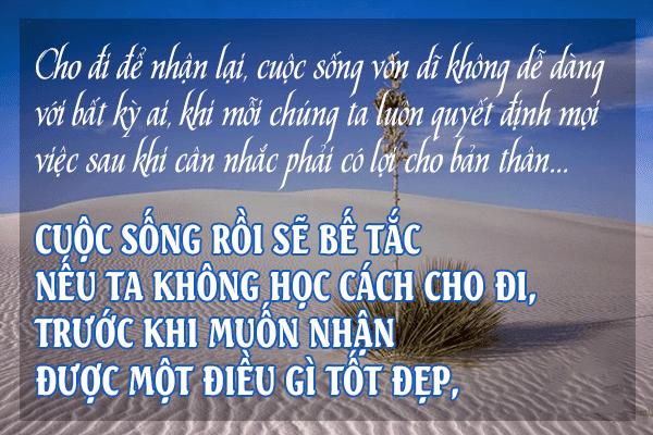song-la-cho-dau-chi-nhan-rieng-minh