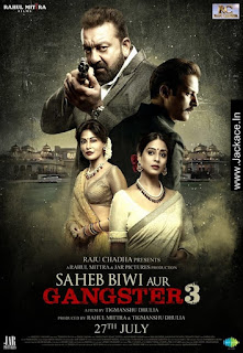 Saheb, Biwi Aur Gangster 3 Budget, Screens & Box Office Collection India, Overseas, WorldWide
