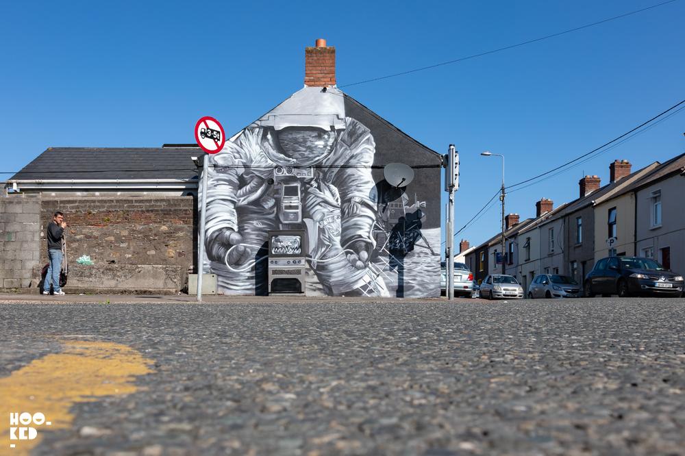 Irish Street Art in Waterford - Shane Sutton