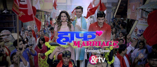 &TV Half Marriage wiki, Full Star Cast and crew, Promos, story, Timings, BARC/TRP Rating, actress Character Name, Photo, wallpaper. Half Marriage Serial on &TV wiki Plot,Cast,Promo.Title Song,Timing