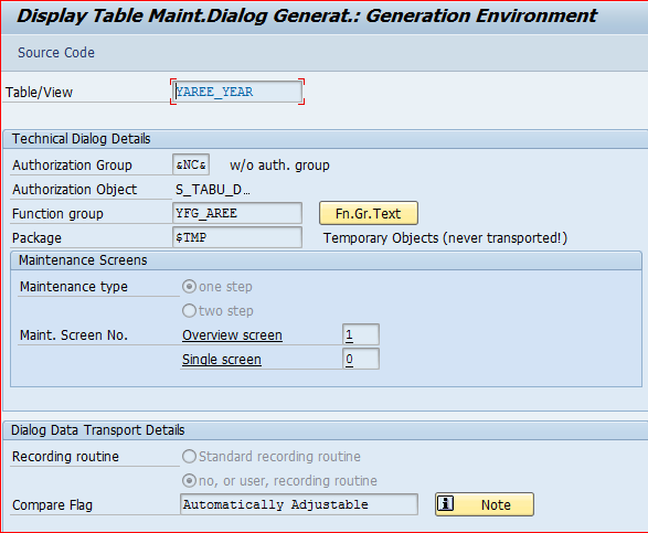 Create IMG Customized Transactions | Help on ABAP