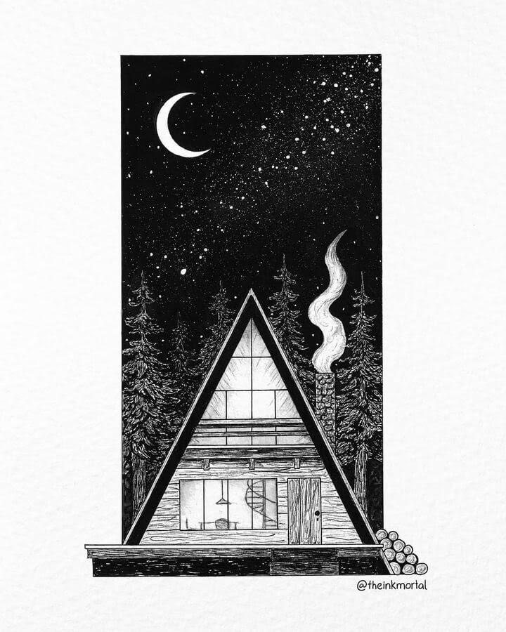 09-A-framed-house-The-Inkmortal-www-designstack-co