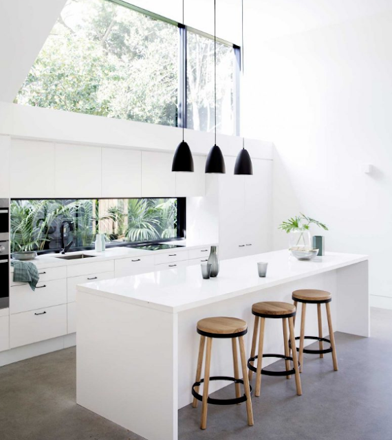 Creating a generous kitchen and living area with a strong connection to the garden.