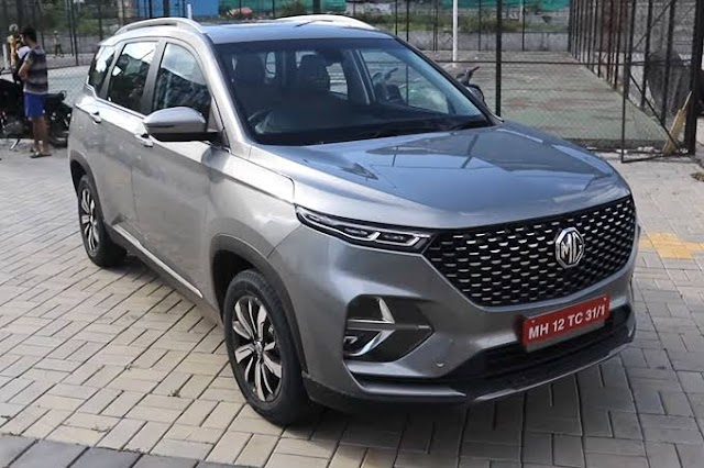 MG Hector Shine launched in India