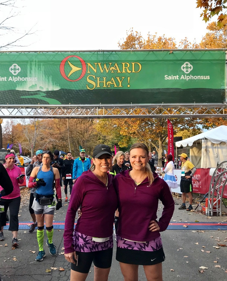 Onward Shay Boise Half Marathon, mom and daughter running, Boise races