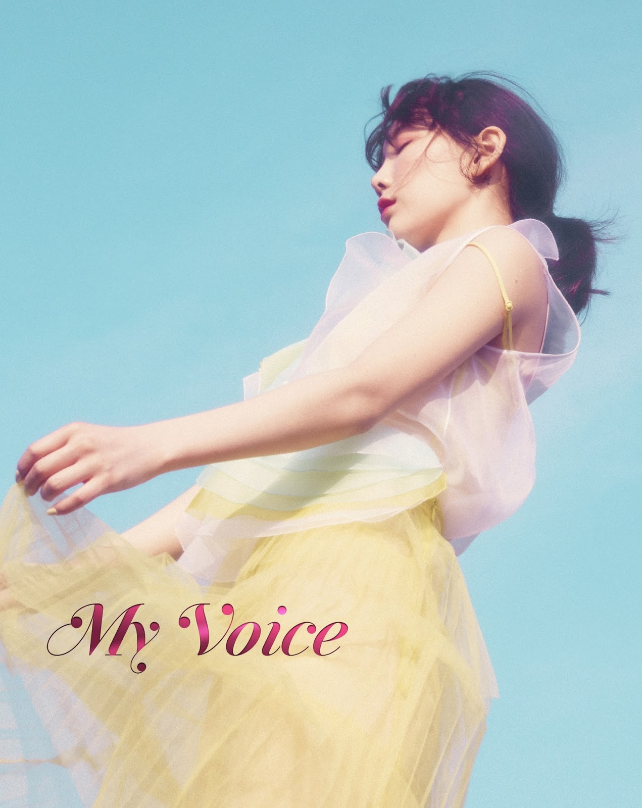 TAEYEON. The 1st Album [My Voice(Deluxe Edition)] Digital Booklet - iTunes (HQ/7PIC) | GGPM