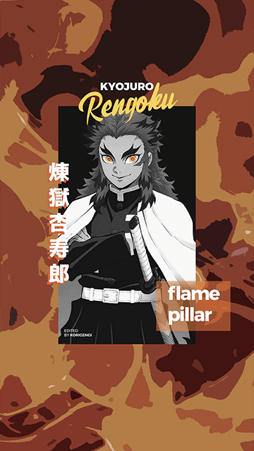 Kyojuro Rengoku - Kimetsu no Yaiba Wallpaper