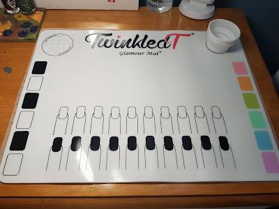 nail art; nail art tools; Nail mat; silicone mat; silicone nail art mat