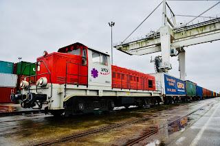 Treno GEFCO dalla Cina alla Francia in meno di 3 settimane