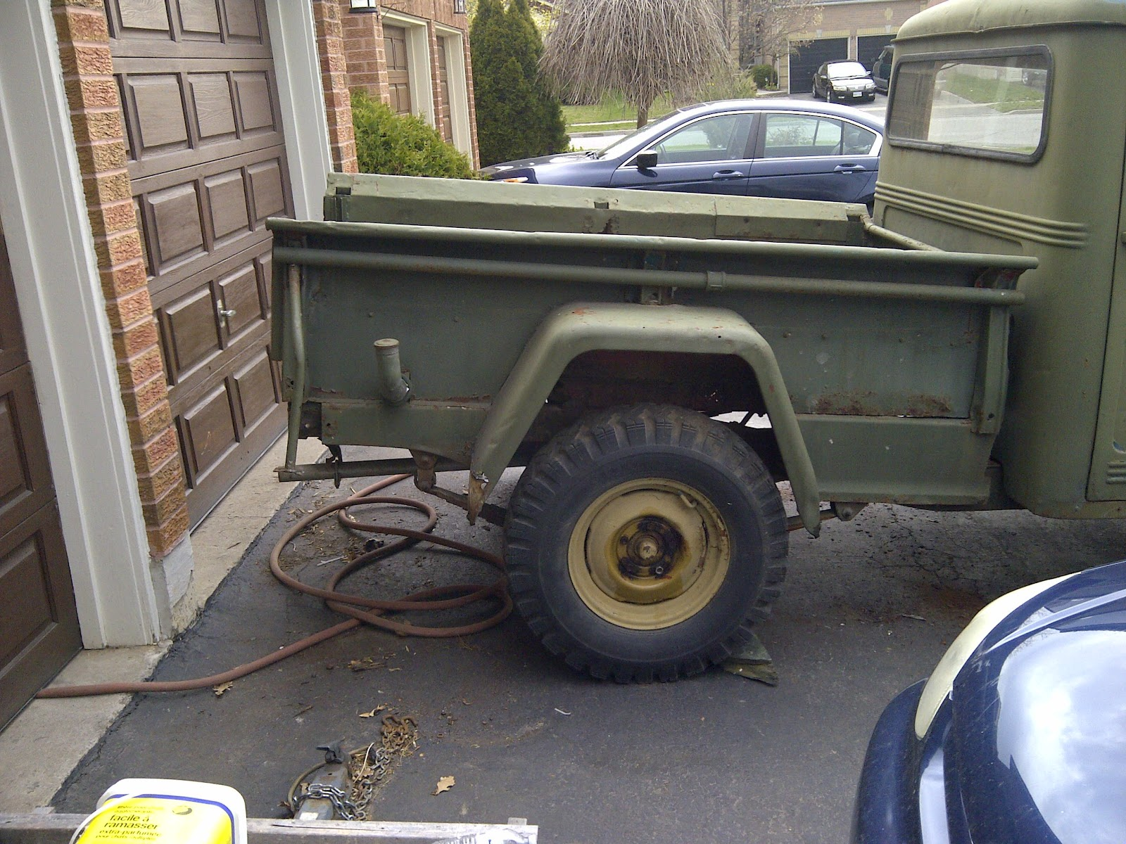 Like A Hurricane 1960 Willys Pickup Project The Garage Journal Board 1950 Jeep Truck This Gives Much More Aggressive Back End Unfortunate That So Many Old Pickups Tailgate Is Missing