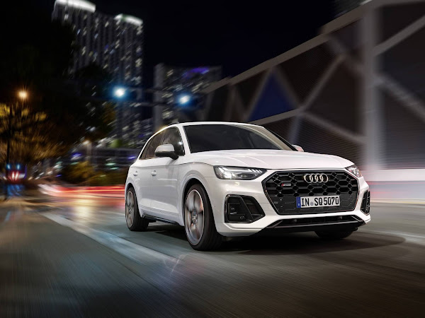 Audi SQ5 TDI 2021 têm facelift, mais tecnologia e eficiência