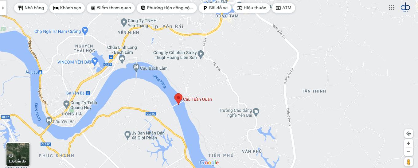 Eurowindow Green Park nằm trên địa bàn phường Yên Ninh.