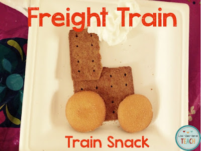 freight train, preschool stories, preschool crafts, preschool snacks, donald crews