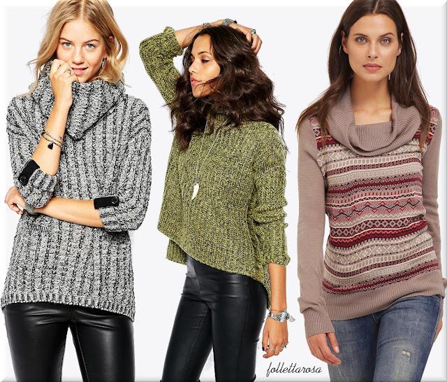 moda donna maglioni autunno inverno 2015 2016