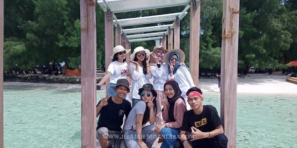 destinasi wisata open trip dan private trip pulau harapan