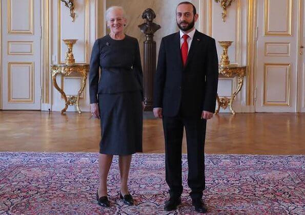 The Armenian Speaker of Parliament Ararat Mirzoyan was accompanied by his Danish counterpart Henrik Dam Kristensen